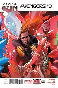 Avengers #31, Standard Cover