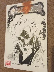 Ghost Rider Sketch from Matthew Clark