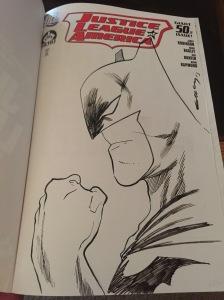 Batman Sketch by Tim Seeley