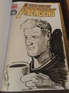 Cliff Barton Sketch by Steve Lieber