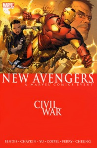 TPB of New Avengers - Civil War