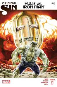 Original Sin Hulk vs. Iron Man #1, Standard Cover