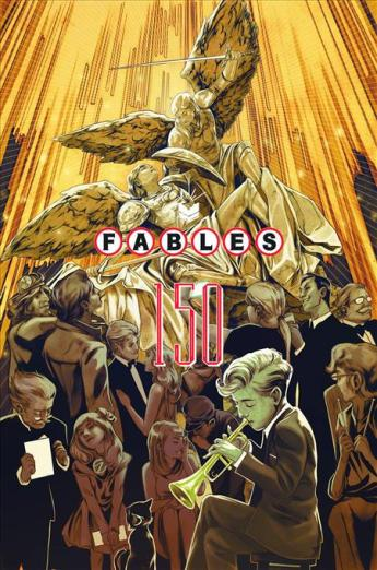 The cover for Fables #150, the last issue.