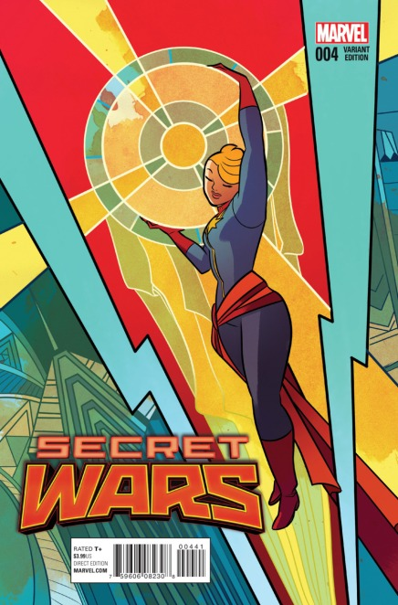 Marvel Secret Wars #4 Complete Variant Covers [IMAGE GALLERY]