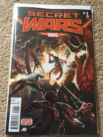 Secret Wars #1 Regular Cover