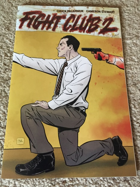 Fight Club 2 #1 TFAW Exclusive Variant Cover - Steve Lieber
