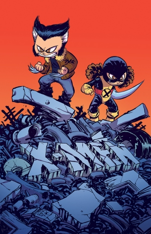 Years of Future Past #1 Skottie Young Baby Variant Cover