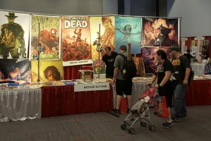 Arthur Suydam Steals Other Creator Tables at Montreal Comic Con, Called Out by Mark Waid