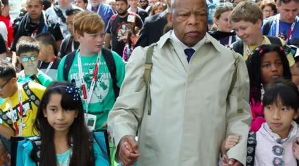John Lewis Recreates Selma March at San Diego Comic Con