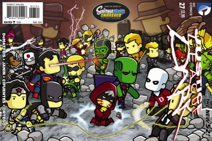 Complete DC Scribblenauts Variant Covers (Image Gallery)