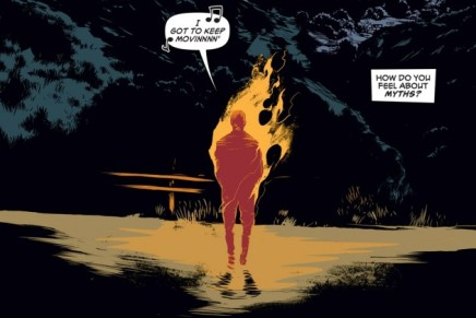 Comic Book Mini Reviews: Death Mask #1, Island #1, Wolf#1
