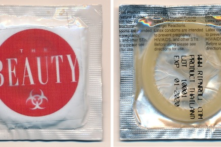 Image Gives Away Free Condoms With 'Beauty' #1