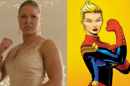 UFC's Rhonda Rousey Asks to Play Captain Marvel in Upcoming Film