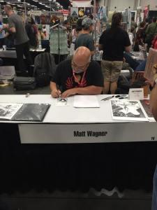 Matt Wagner signing.