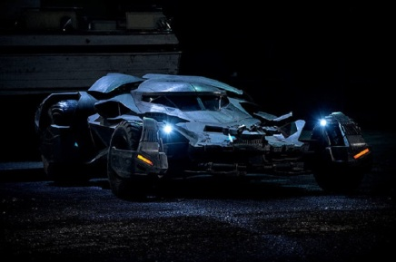 """New Photos from 'Batman v. Superman: Dawn of Justice,"""" Including Batmobile [PhotoGallery]"""