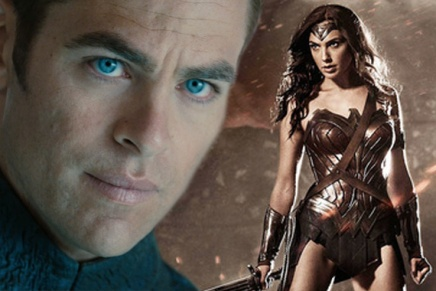 Actor Chris Pine Will Appear in Upcoming 'Wonder Woman'Movie