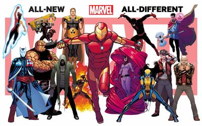 Complete All New, All-Different Marvel Title Checklist