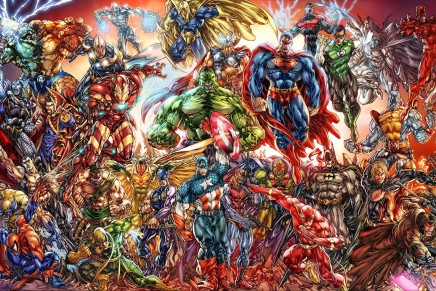 Top 50 DC Characters, Top 50 Marvel Characters, As Voted on By Comic Book Resources Readers