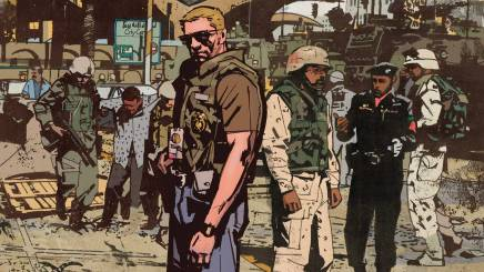 DC/Vertigo Signs Exclusive Deal with Sheriff of Babylon Artist Mitch Gerads