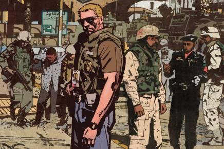 DC/Vertigo Signs Exclusive Deal with Sheriff of Babylon Artist MitchGerads